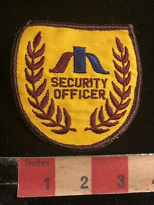 Police / Security Related Patch SECURITY OFFICER (version 1) 90RA
