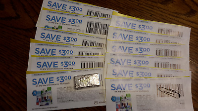 (12) Glucerna Multipack $3.00 Coupons - exp date Sept. 30, 2020