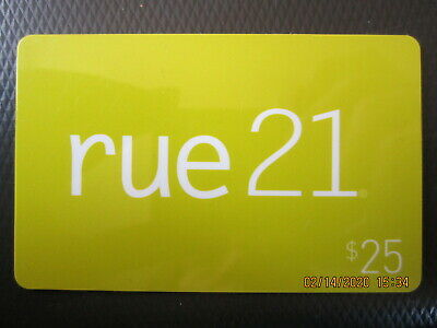 $25 RUE 21  swap trade NO VALUE collect GIFT CARD 1