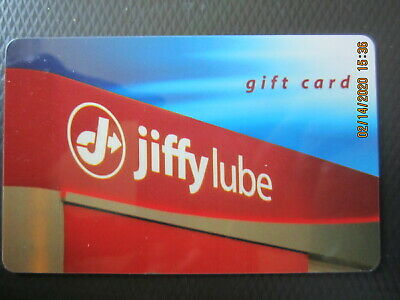 JIFFY LUBE   swap trade NO VALUE collect GIFT CARD 1