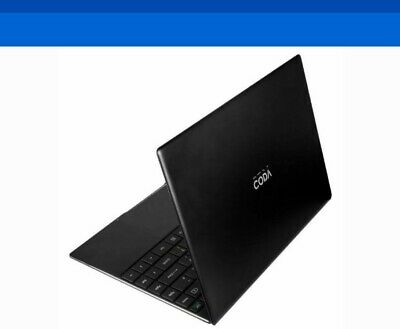 "Coda Spirit Laptop - 13.3"" 32GB, Intel Celeron N3350 1.1GHz, 4GB LPDDR4, Win10"