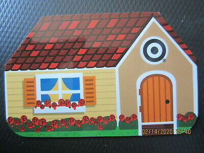 SHAPE OF A HOUSE  TARGET  trade NO VALUE collect GIFT CARD 2
