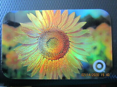 SUNFLOWER  TARGET  trade NO VALUE collect GIFT CARD 2