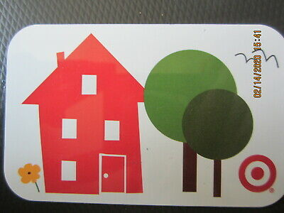 RED HOUSE TREES  TARGET  trade NO VALUE collect GIFT CARD 2
