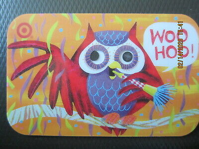 OWL w GOOGLE EYES   TARGET  trade NO VALUE collect GIFT CARD 2