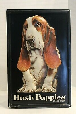 Vintage 1980s Hush Puppies Basset Hound Store Display Advertising 12 Photos