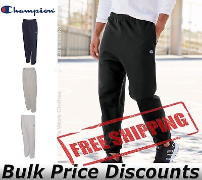Champion Mens Reverse Weave Sweatpants with Pockets RW10 up to 3XL