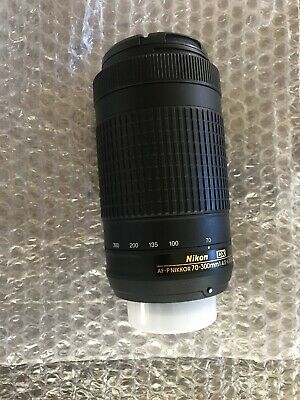 Nikon AF-P DX NIKKOR 70-300mm F/4.5-6.3 G ED Lens Never Used Mint Condition