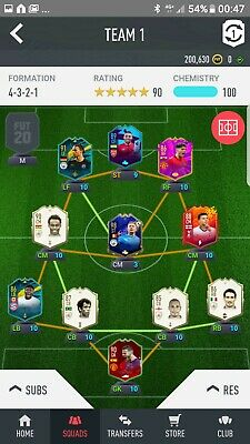 FIFA 20 + Ultimate Team Account PS4 (Stacked)