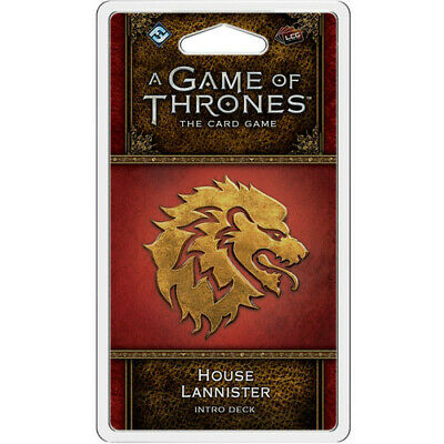 A Game of Thrones 2nd Edition LCG: House Lannister Intro Deck New Sealed
