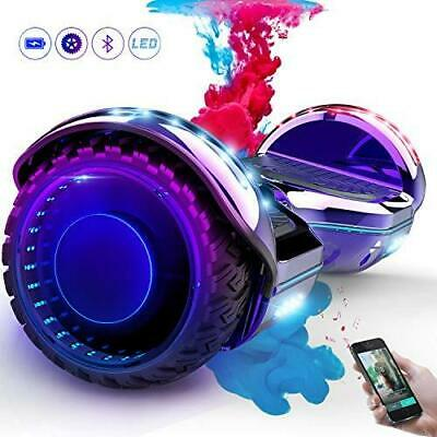 COLORWAY Overboard Hover Scooter Board Gyropode Bluetooth Violet -6.5 pouces