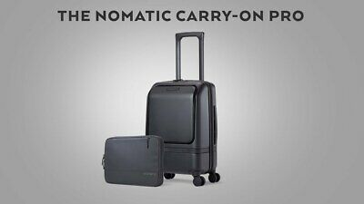 BRAND NEW Nomatic Carry-On Pro Travel Roller Suitcase Luggage - Black