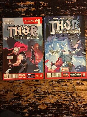 Thor: God of Thunder #19 & 20 (Marvel) Free Combine Shipping