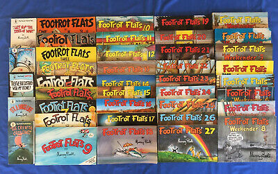 ** RARE ** Footrot Flats Collection 1-27, 8 weekenders, 5 Pocket - Murray Ball.
