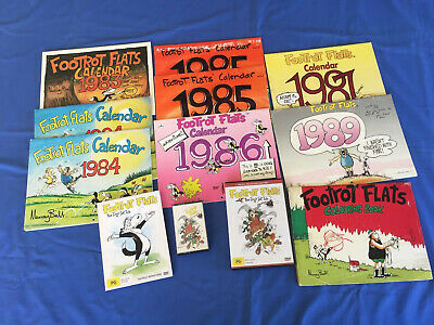 ** RARE ** Footrot Flats Calendar Collection, DVD, Tape etc.  - Murray Ball.