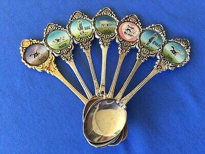 ** RARE ** Footrot Flats Collectible spoons x 7 - Murray Ball.