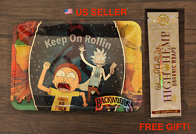 Funny Cartoon Rolling Tray RAW Style for Cigarette Rolling papers - ONLY 1 LEFT!