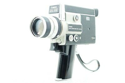 """""""Exc+++++"""" CANON Auto Zoom 518SV Super 8 8mm Movie Film Camera From Japan 633"""