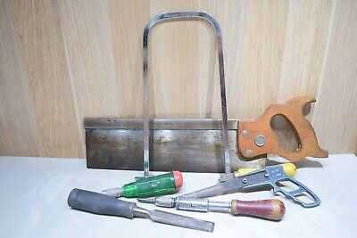 Vintage Stanley Disston Eclipse Woodworking Old Tools