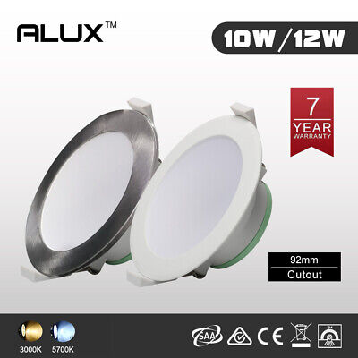 LED Downlight Kit 10W/12W 92mm IP44 Dim/Non-Dim AU Plug SAA 7-Year Warranty