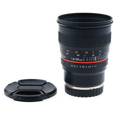 Rokinon 50mm f/1.4 AS UMC Lens for Sony E-Mount (Used)