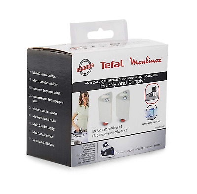 Tefal Anti-Calc Cartridge for Purely and Simply SV5011 - 2 Pack
