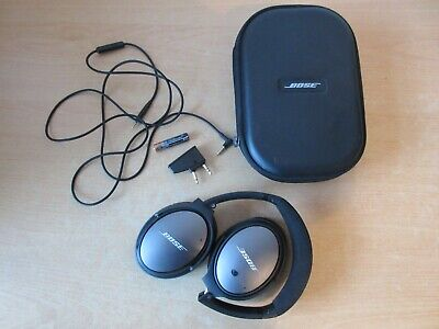 Bose Quiet Comfort 25 Noise Cancelling On Ear Cup Headphones with Case