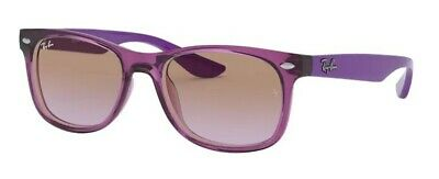 Sunglasses for kids Ray Ban Junior RJ9052S 7064/68 48 Transp Fuxia Violet