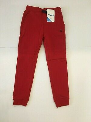 Mayoral Boys Red Casual Jogging Pants Age 4