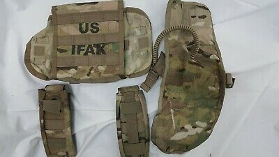 US Military Issue Army SEKRI Multicam MOLLE IFAK II Case First Aid Pouch