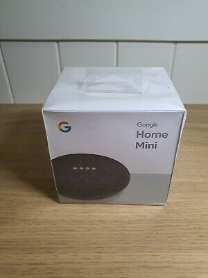 Google Home Mini - Charcoal Sealed