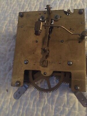 Fine Working Smith Enfield English Mantle Clock Movement