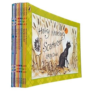 Hairy Maclary 10 Picture Books Lynley Dodd Dog Fun Toddler Kids Children New
