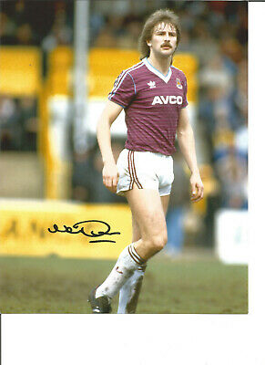 Football Autograph Neil Orr West Ham United Signed 10x8 inch Photograph JM162
