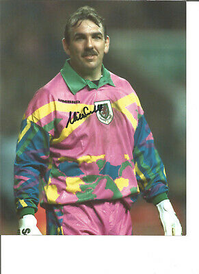 Football Autograph Neville Southall Wales Signed 10x8 inch Photograph JM261