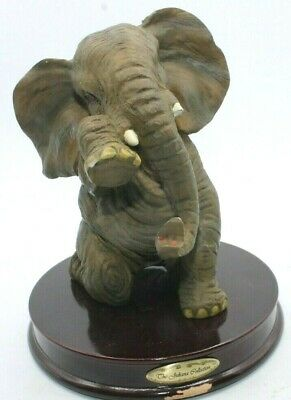 Juliana Natural World ELEPHANT Standing Ornament 18cm *NEW* Boxed