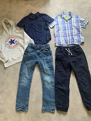 Boys Next, Converse Bundle Age 9 Yrs Jeans Checked Shirts Hoody Hoodie Top