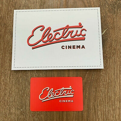 Electric Cinema Gift Card with £50 on it - Shoreditch, Portobello - Event Ticket