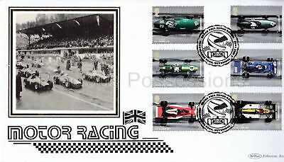 Blcs365 Benham Silk 2007 First Day Cover Fdc Motor Racing Grand Prix