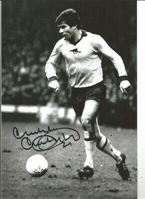 Malcolm Mcdonald Arsenal 10x8 inch hand signed authentic football photo S007C