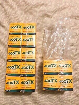 Kodak Tri-X Pan 400 - Black & white print film 135 (35 mm) 24 exposures 14 rolls