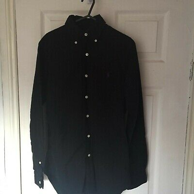Ralph Lauren Mens  Polo Shirt Black Size XS
