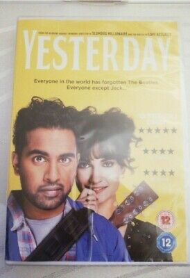 Yesterday Dvd unopenend RRP £9