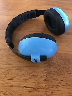 Baby Banz Hearing Protection Earmuffs for Infants - Blue