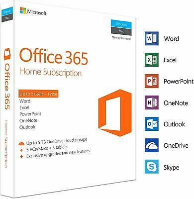 Ms Office 365 Pro Plus 2019 lifeTime Account 5 Devices Win Mac Mobil New Account