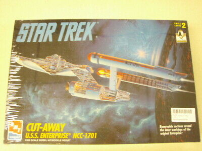 NEW AMT ERTL Cut Away Star Trek USS Enterprise NCC-1701 Model Kit PN-8790