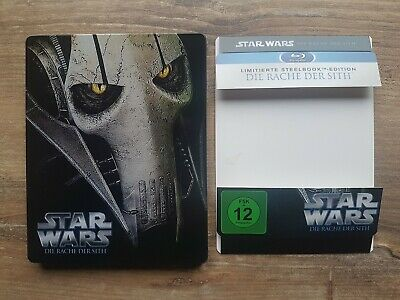 Star Wars Episode 3 - Die Rache der Sith Steelbook Blu Ray Disc
