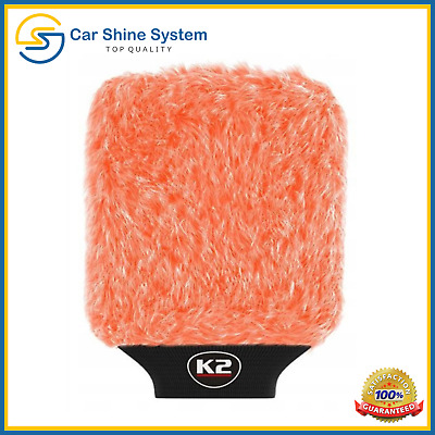 K2 Pro Wash Mitt Microfiber Ultra Soft Car Cleaning Premium Washing Glove Sponge