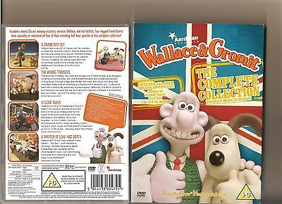 Wallace And Gromit Complete Collection Dvd 4 Episodes