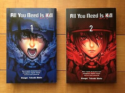 ALL YOU NEED IS KILL serie completa 1-2 Prima edizione _Takeshi Obata Death Note